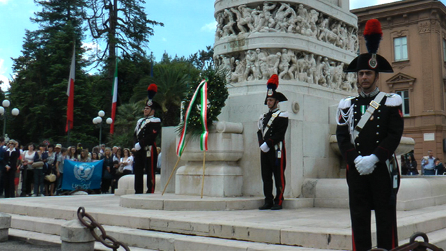 Festa della Repubblica in piazza Cavour