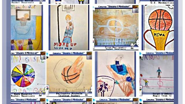 Disegna Il Minibasket Concluso Il Progetto Dedicato Ai Bambini