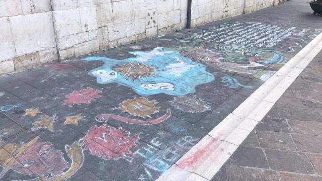 Corso Garibaldi, l'omaggio di un artista di strada alle ...