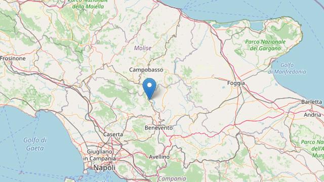 Sannio, nella notte quattro lievi scosse di terremoto: l'epicentro a Morcone   NTR24.TV - News su cronaca, politica, economia, sport, cultura nel Sannio